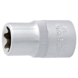 Capete chei tubulare cu profil TX interior 1/2'' - 191/1 Unior